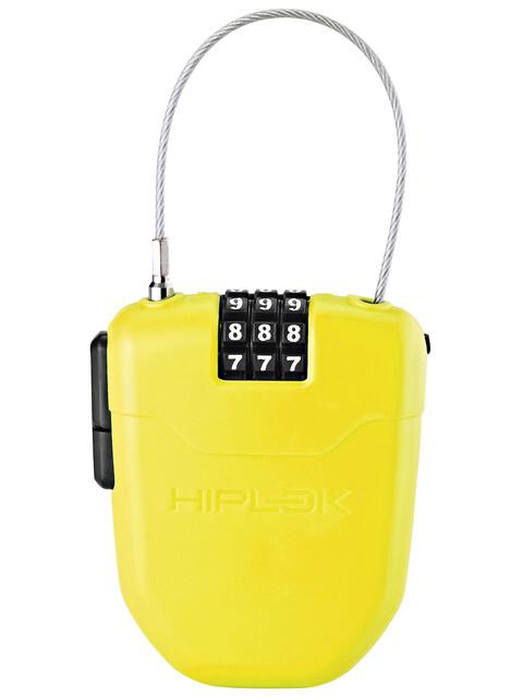 Hiplok FX Fietsslot met reflector geel